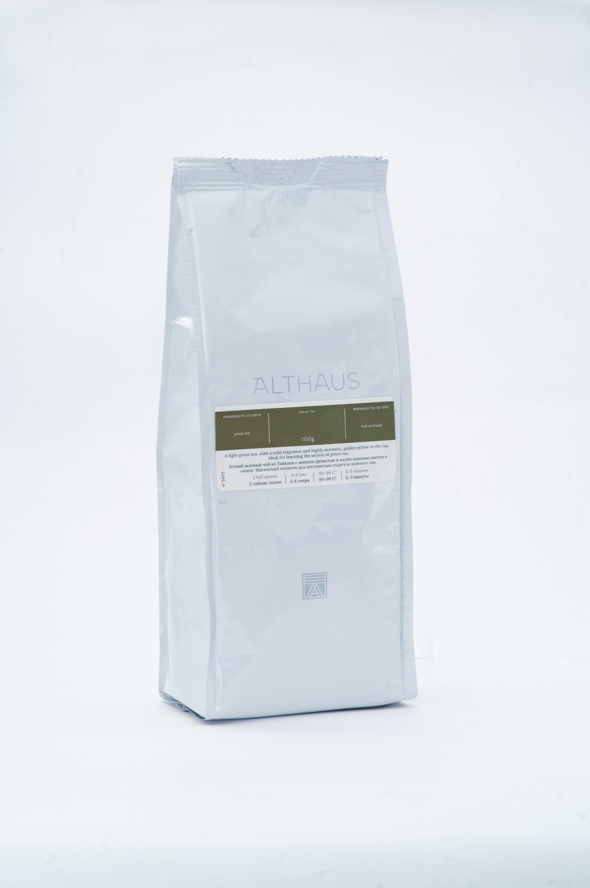Чай листовой Althaus Milk Oolong (Молочный Улун) 250 г
