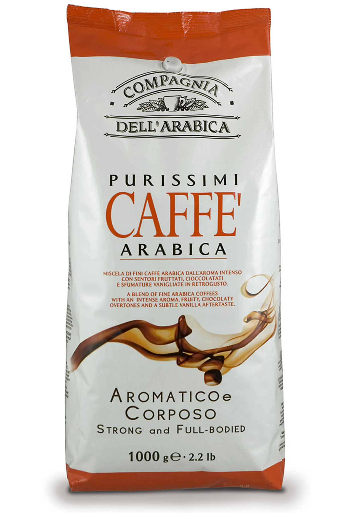 Кофе в зернах Compagnia Dell'Arabica Purissimi Arabica 1 кг