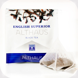 Чай в пирамидках Althaus English Superior (Альтхаус Инглиш Супериор) 15 шт по 2.75 гр