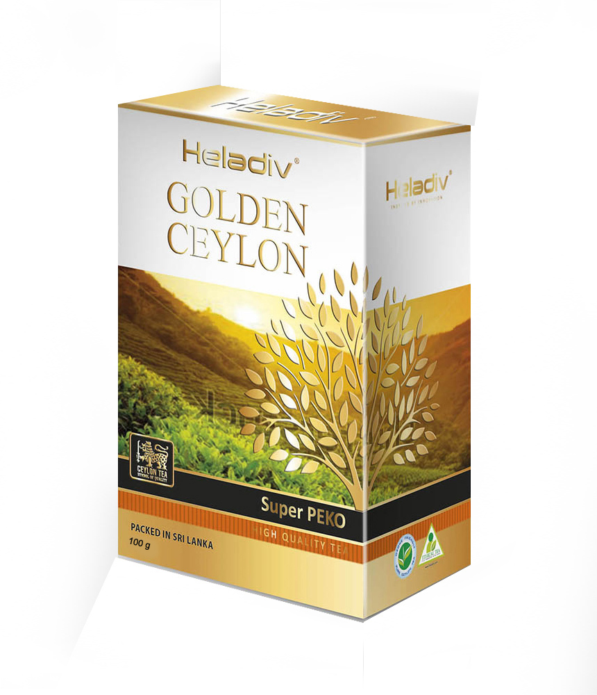 Чай листовой Heladiv GOLDEN CEYLON OPA SUPER BIG LEAF 100 гр.
