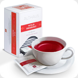 Чай в пакетиках Althaus Wild Berries (Альтхаус Уайлд Бэрриз) 20 пакетиков