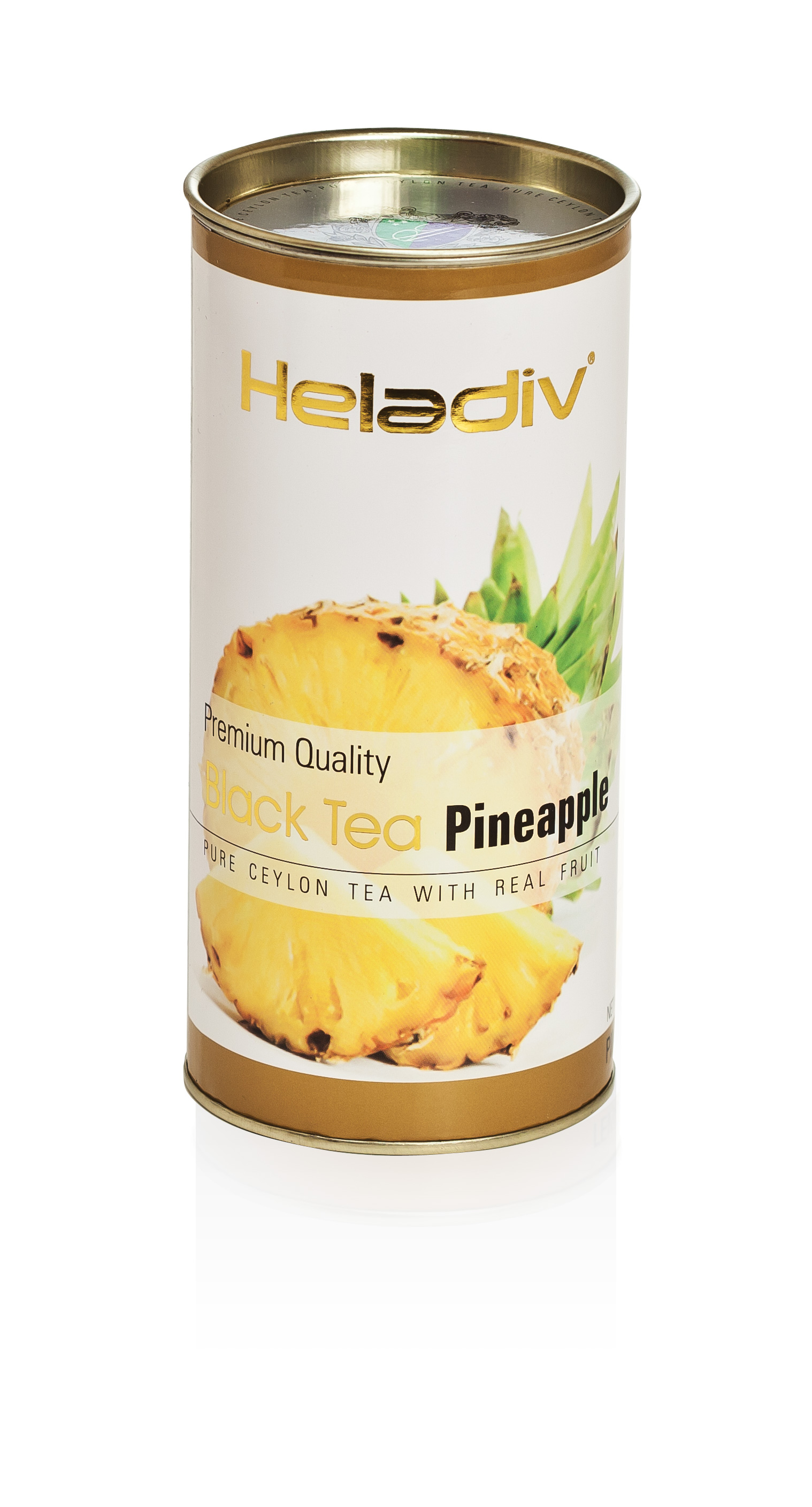 Чай листовой heladiv pineapple 100 г в тубе