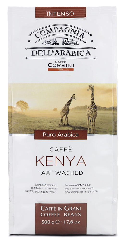 Кофе в зернах Compagnia Dell'Arabica Kenya 'AA' Washed (Кения)
