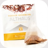 Чай в пирамидках Althaus Toffee Rooibush (Тоффи Ройбуш) 15 шт