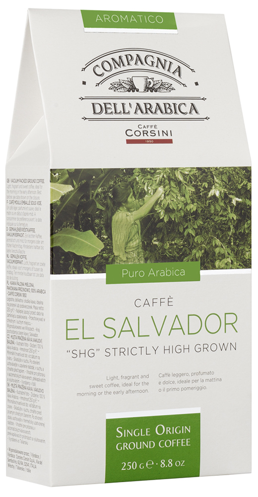 Кофе молотый Compagnia Dell'Arabica El Salvador SHG Strictly High Grown