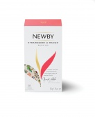 Чай в пакетиках Newby Mango & Strawberry (Ньюби Манго и Клубника) 25 пакетиков