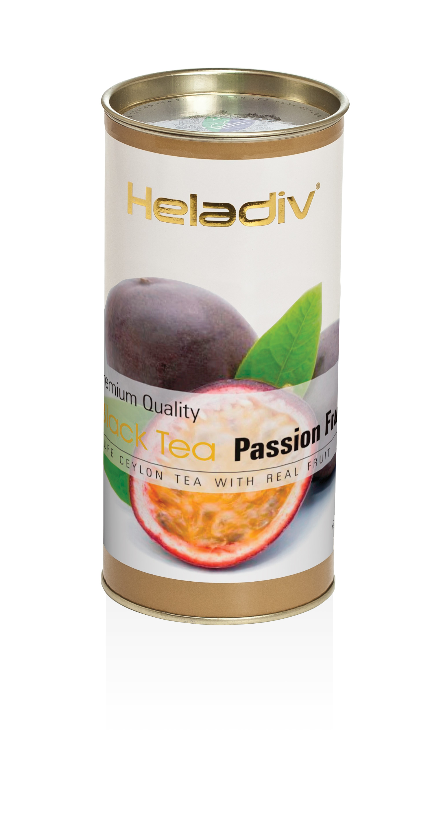 Чай листовой heladiv passion fruit 100 г в тубе