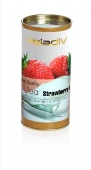 Чай листовой heladiv STRAWBERRY CREAM 100 г в тубе